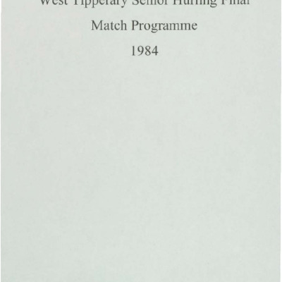 1984 West Tipperary Senior Hurling Final.pdf