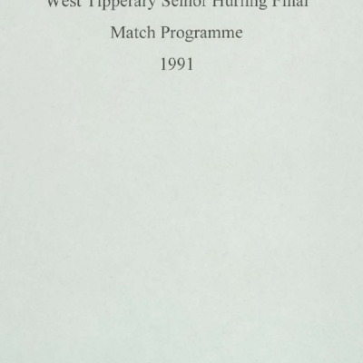 1991 West Tipperary Senior Hurling Final.pdf