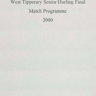 2000 West Tipperary Senior Hurling Final.pdf