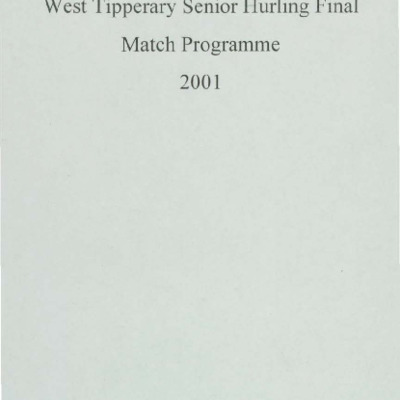 2001 West Tipperary Senior Hurling Final.pdf