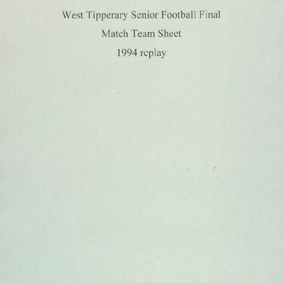 1994 West Tipperary Senior Football Final replay.pdf