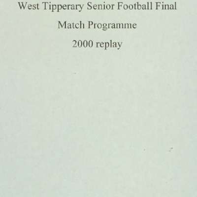 2000 West Tipperary Senior Football Final replay..pdf