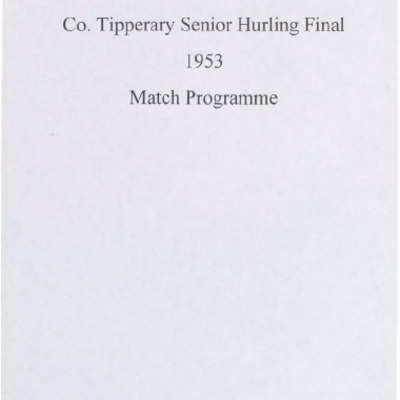 1953 Co. Tipperary Senior Hurling Final..pdf