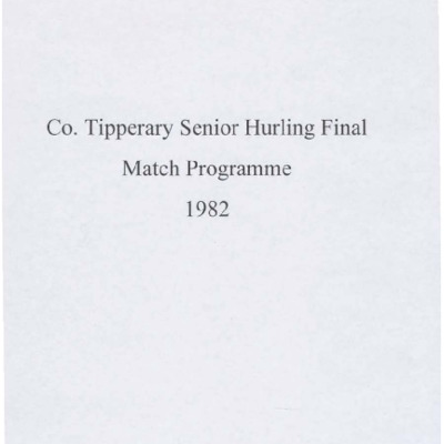 1982 Co. Tipperary Senior Hurling Final..pdf