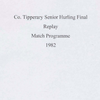 1982 Co. Tipperary Senior Hurling Final replay..pdf