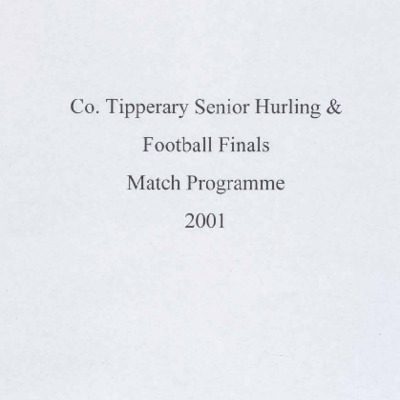 2001 Co. Tipperary Senior Hurling & Senior Football Finals..pdf