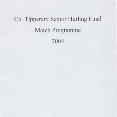 2004 Co. Tipperary Senior Hurling Final..pdf
