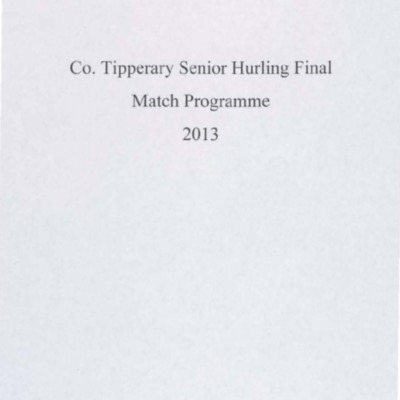 2013 Co. Tipperary Senior Hurling Final..pdf