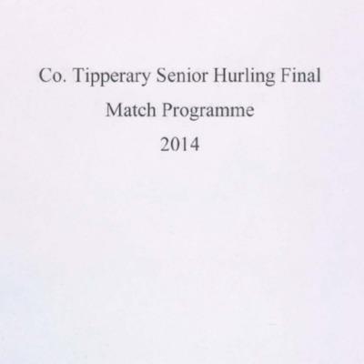 2014 Co. Tipperary Senior Hurling Final..pdf