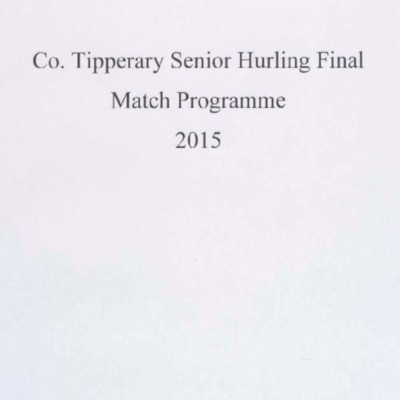 2015 Co. Tipperary Senior Hurling Final..pdf