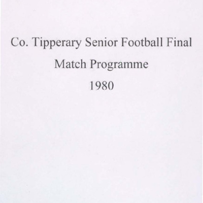 1980 Co. Tipperary Senior Football Final..pdf