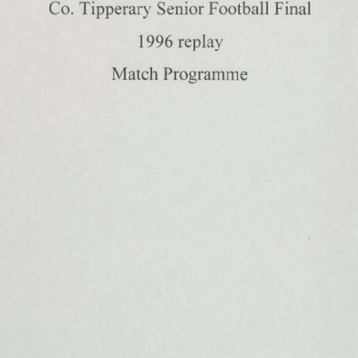 1996 Co. Tipperary Senior Football Final replay..pdf