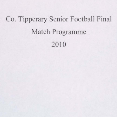 2010 Co. Tipperary Senior Football Final..pdf