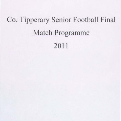 2011 Co. Tipperary Senior Football Final..pdf