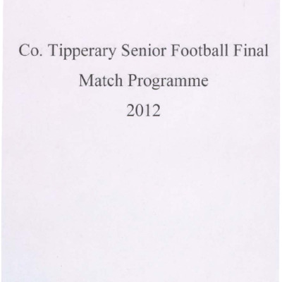2012 Co. Tipperary Senior Football Final..pdf