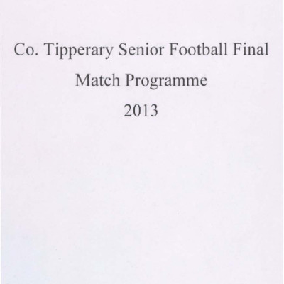 2013 Co. Tipperary Senior Football Final..pdf