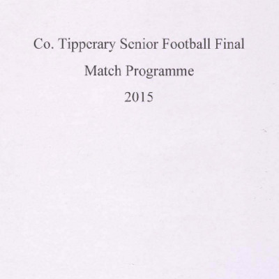 2015 Co. Tipperary Senior Football Final..pdf