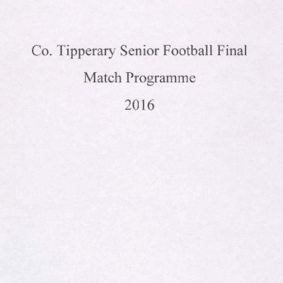 2016 Co. Tipperary Senior Football Final..pdf