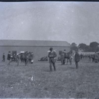 1B Sale paddock at Dublin Horse Show, 27 August 1913.jpg