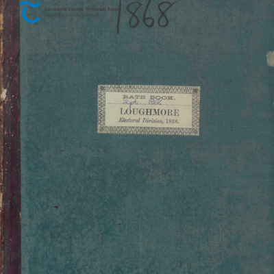 Loughmore Rate Book 1868.pdf
