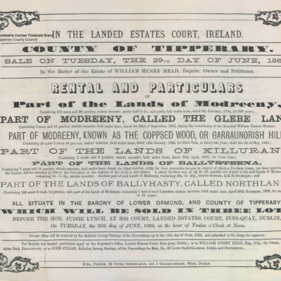 Head Estate sale at Modreeny 1869.pdf