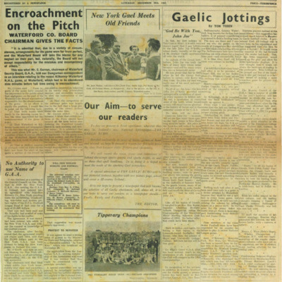 The Gaelic Echo, 20 December 1952.pdf