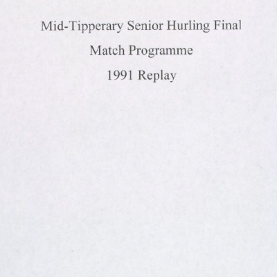 1991 Mid-Tipperary Senior Hurling Final replay.pdf