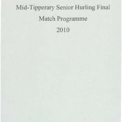 2010 Mid-Tipperary Senior Hurling Final..pdf