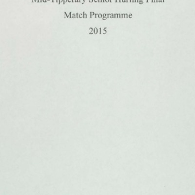 2015 Mid-Tipperary Senior Hurling Final..pdf