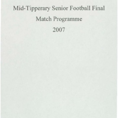 2007 Mid-Tipperary Senior Football Final..pdf