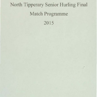2015 North Tipperary Senior Hurling Final.pdf