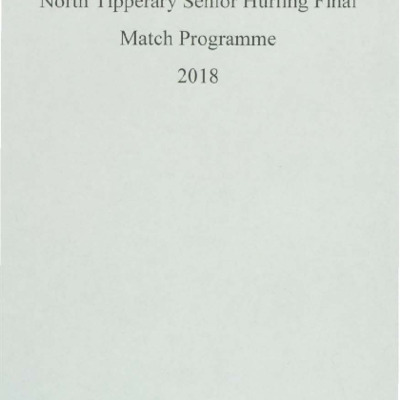 2018 North Tipperary Senior Hurling Final.pdf