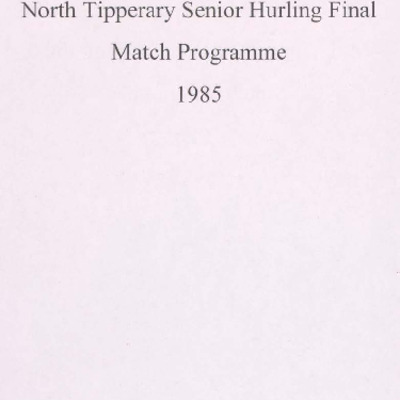 1985 North Tipperary Senior Hurling Final.pdf