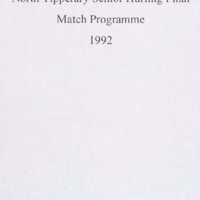 1992 North Tipperary Senior Hurling Final.pdf