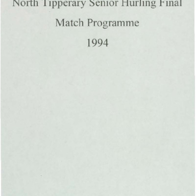 1994 North Tipperary Senior Hurling Final.pdf