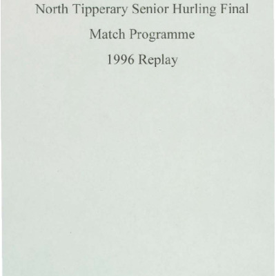 1996 North Tipperary Senior Hurling Final replay.pdf