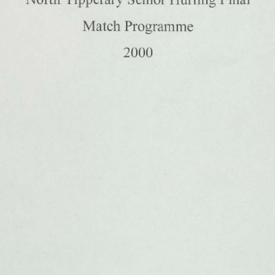2000 North Tipperary Senior Hurling Final.pdf