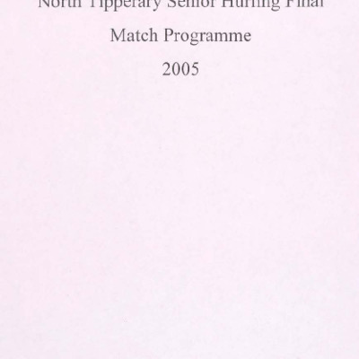 2005 North Tipperary Senior Hurling Final.pdf