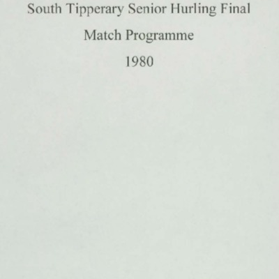 1980 South Tipperary Senior Hurling Final.pdf