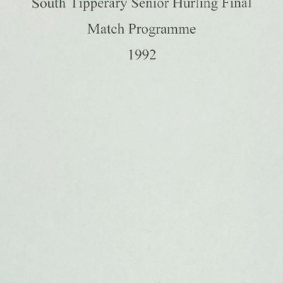 1992 South Tipperary Senior Hurling Final.pdf