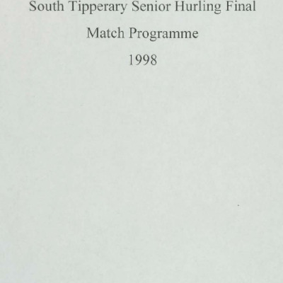 1998 South Tipperary Senior Hurling Final.pdf