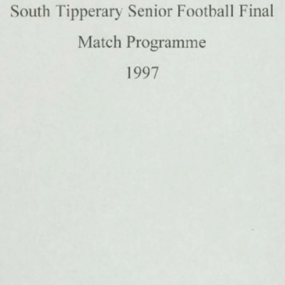 1997 South Tipperary Senior Football Final..pdf