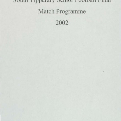 2002 South Tipperary Senior Football Final..pdf
